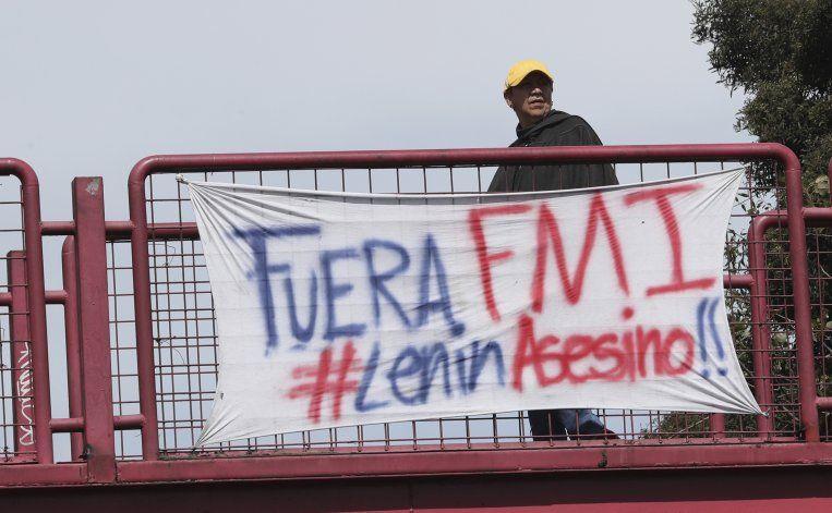 FMI saluda esfuerzo para resolver crisis política en Ecuador
