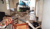 Muere el chofer de un camión tras embestir una vivienda en Guantánamo