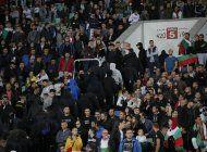 bulgaria: 6 detenidos por racismo en partido ante inglaterra