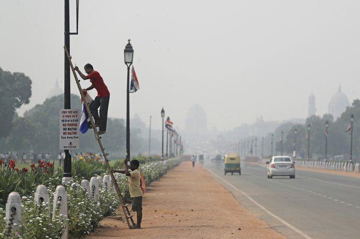 Aumenta contaminación en la capital de India pese a medidas