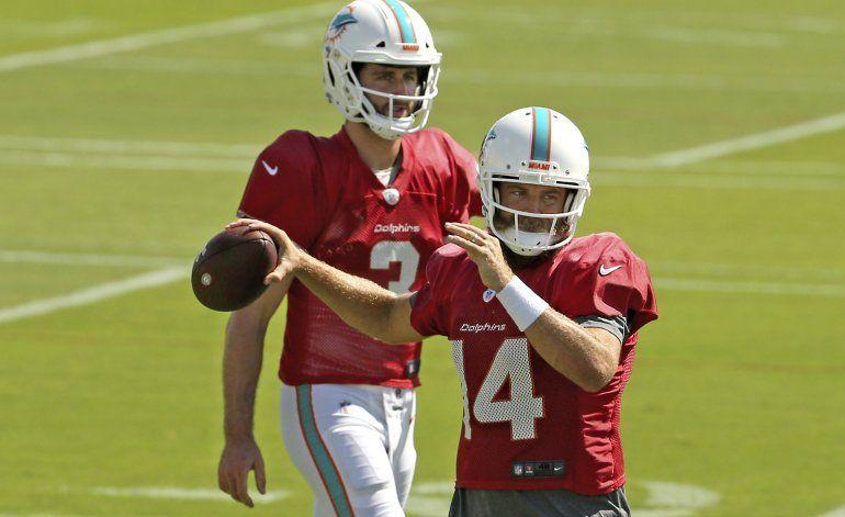 Fitzpatrick será titular con Dolphins en Buffalo