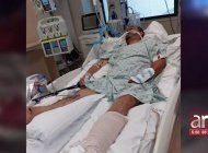 en estado critico hombre que fue atropella cuando se bajo de su auto tras ser impactado por otro carro