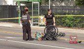 Un conductor se dio a la fuga después de atropellar a una señora en silla de ruedas en el Pequeño Haití