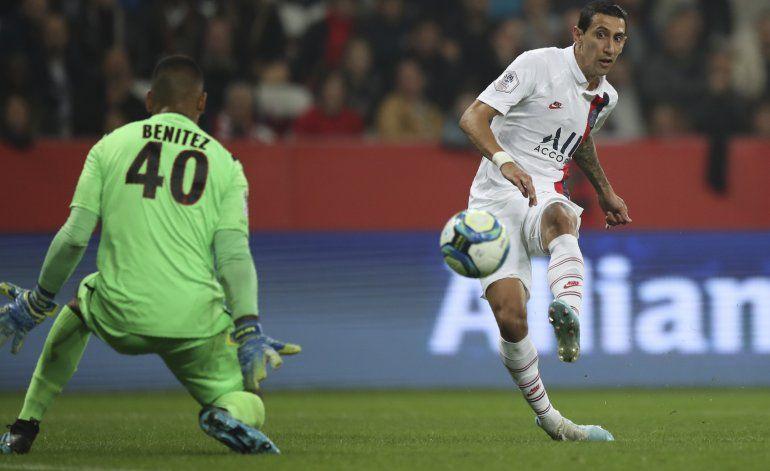 Di María e Icardi anotan y el PSG golea 4-1 a Niza