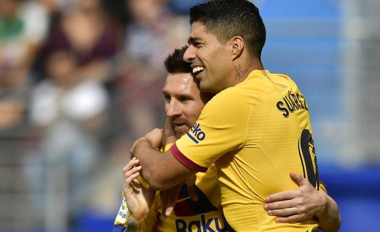 Barcelona asalta el liderato, el Madrid cojea en Mallorca