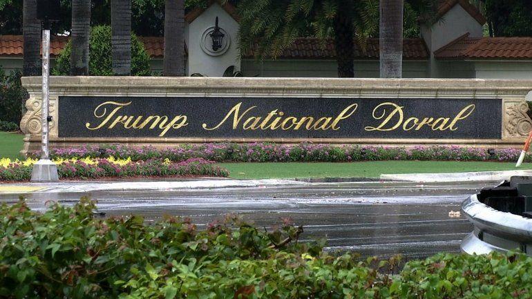 Trump cancela planes de llevar el G7 a hotel de su propiedad