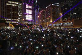 hongkoneses preparan una marcha en desafio a veto policial