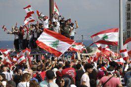libano se prepara para una manifestacion multitudinaria