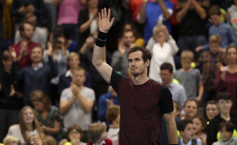 Andy Murray gana su primer título ATP desde cirugía