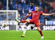 italia: gritan insultos racistas a jugador de sampdoria