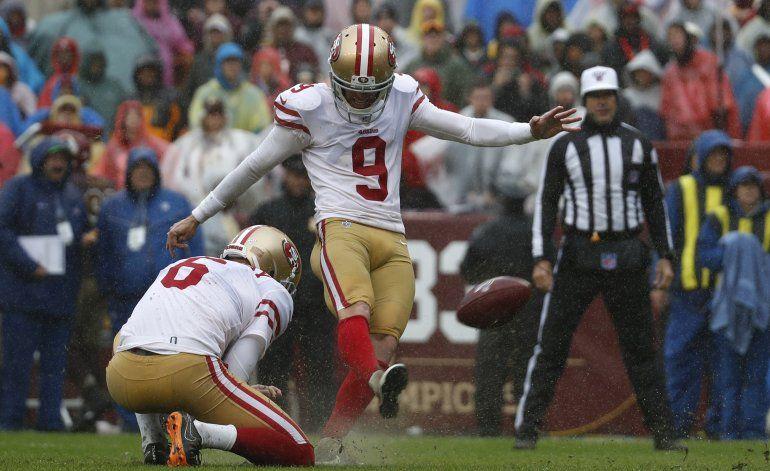 49ers superan a Redskins en deslucido encuentro