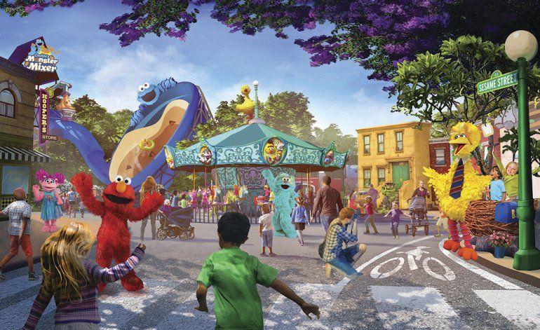 Abre en San Diego 2do parque Sesame Street Place