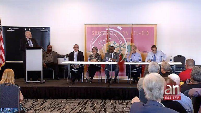 Se realiza primer debate entre los candidatos a la alcaldía del condado
