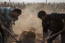ministra alemana de defensa propone zona segura en siria