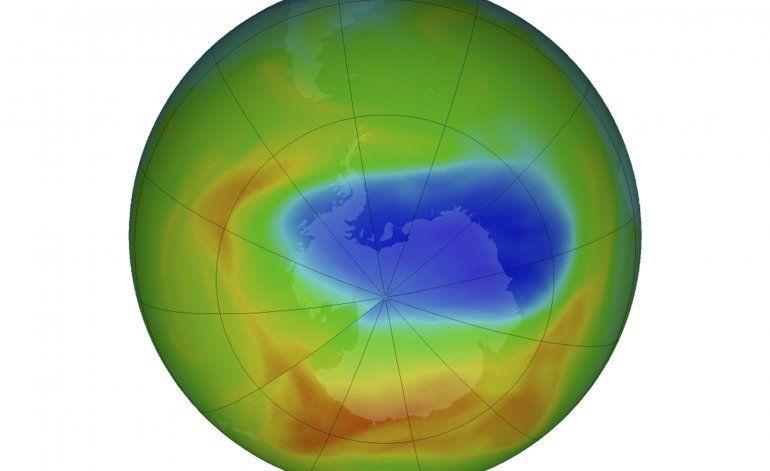 Agujero en capa de ozono mide menos desde su descubrimiento