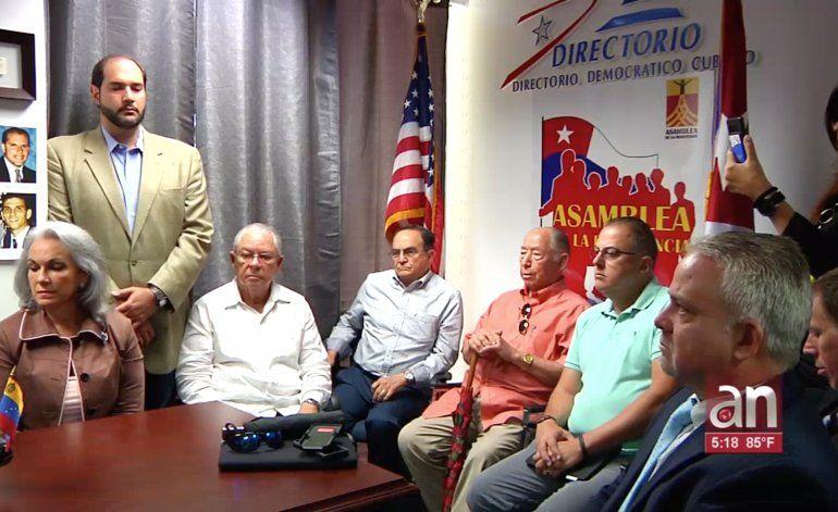Exiliados cubanos en Miami piden más sanciones al régimen cubano