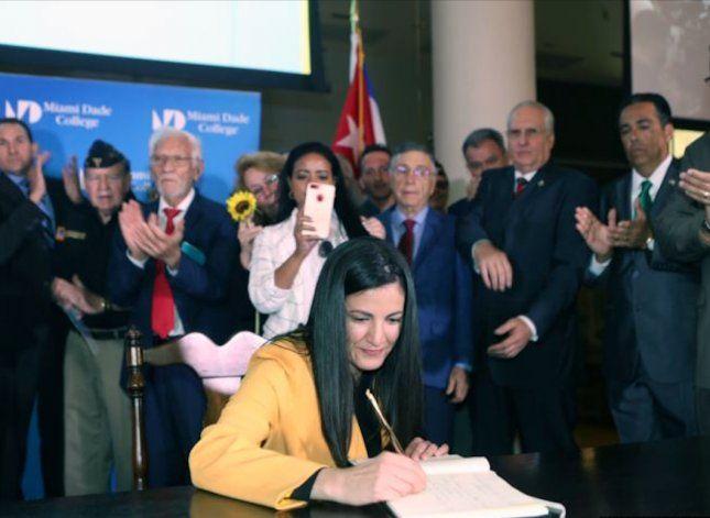 Ratifican en Miami Acuerdo por la Democracia en Cuba