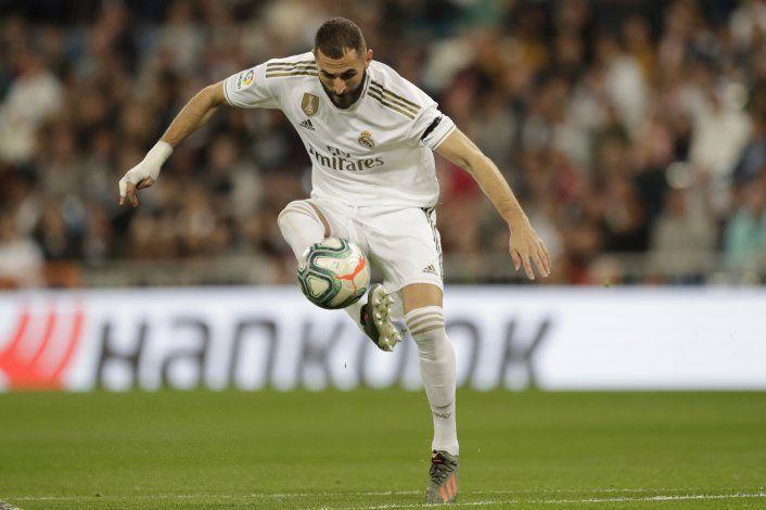 Benzema guía al Madrid a goleada de 5-0 sobre Leganés