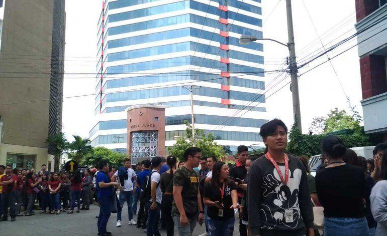 Filipinas registra su 3er sismo de gran intensidad en un mes