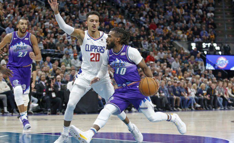 Conley despierta y Jazz vence a Clippers