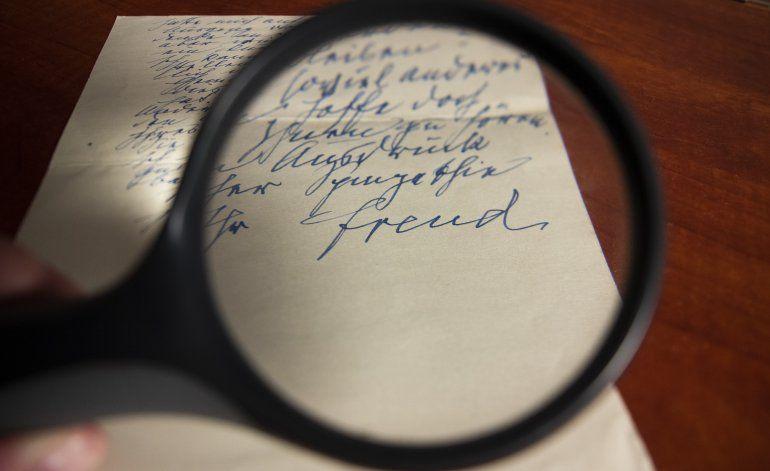 Subastarán carta de Freud que muestra su lado sentimental
