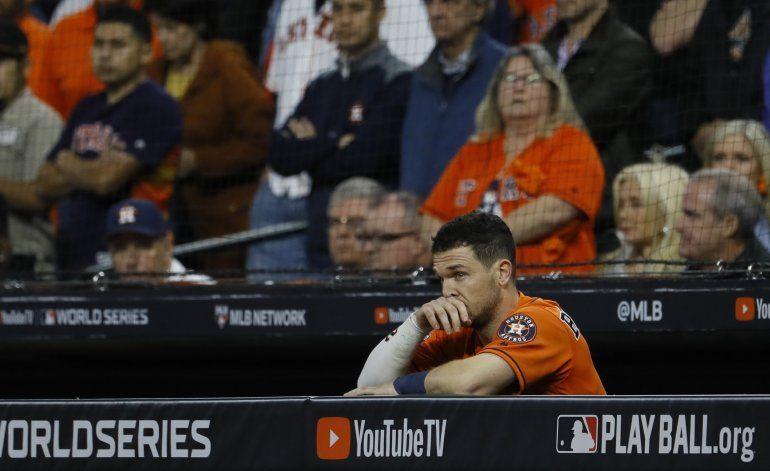 A un triunfo del título, los Astros pasarán largo invierno