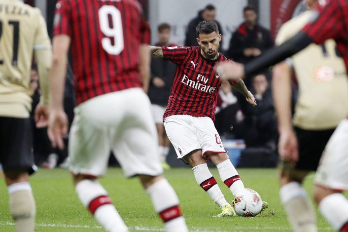 Gol de Suso le da a Pioli su primer triunfo con el Milan
