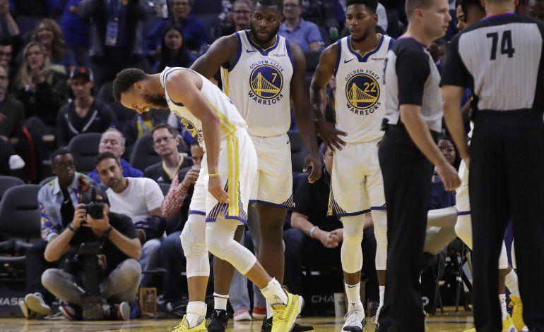 Warriors busca respuestas sin Stephen Curry