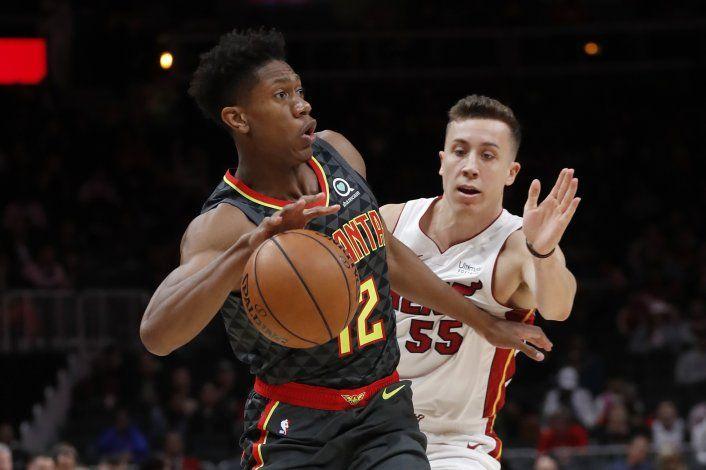 Nunn anota 28 puntos en triunfo de Heat sobre Hawks 106-97