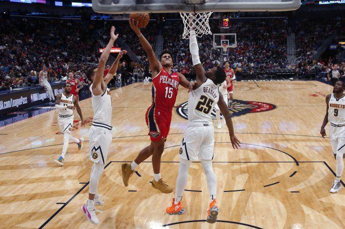 Pelicans vence a Nuggets para su primer triunfo del año