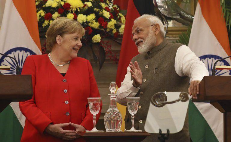 India y Alemania acuerdan mejorar la cooperación bilateral