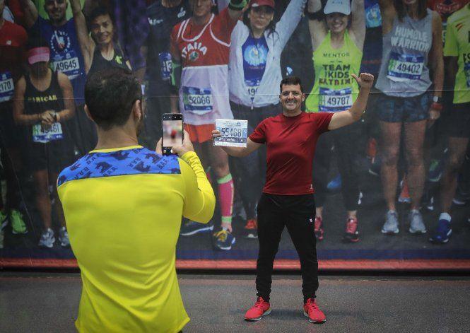 Tras huir de Venezuela, correrá maratón de Nueva York