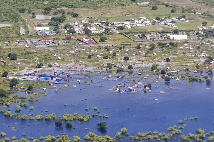 Inundaciones en África afectan a más de 1 millón de personas