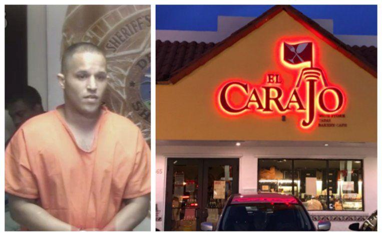 Tras las rejas joven de Miami que robo más 30 mil dólares en el restaurante donde trabaja como cajero