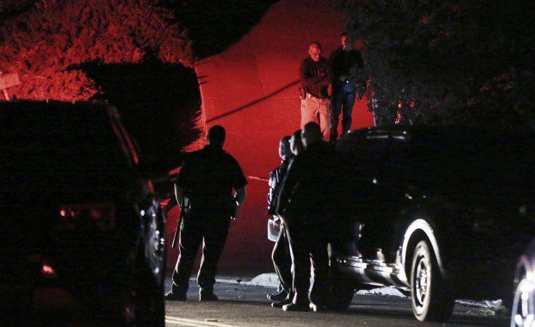 Quien alquiló casa de tiroteo en California mintió al dueño