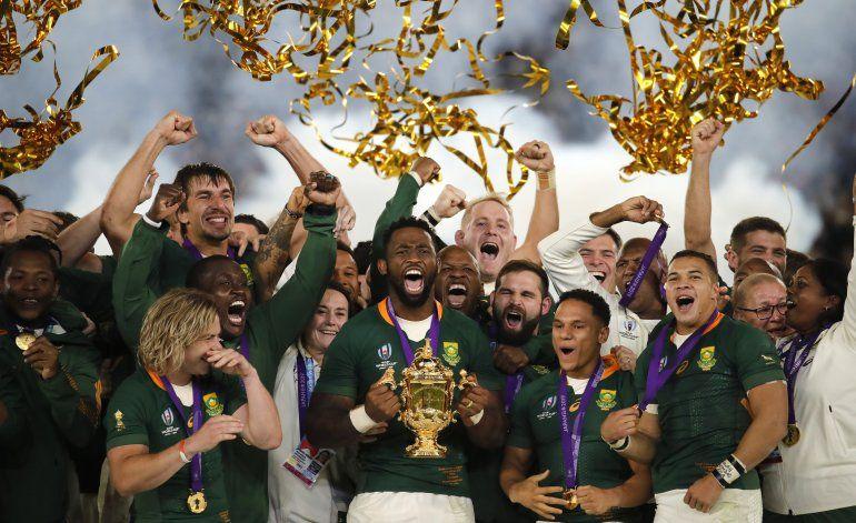 Sudáfrica conquista su tercer Mundial de rugby