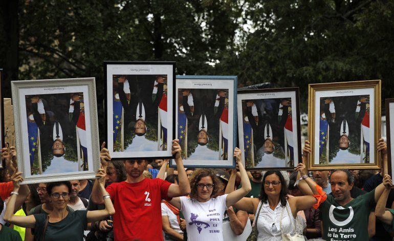 Una protesta por el clima divide a los jueces franceses