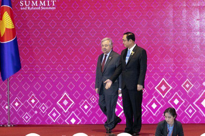 Jefe ONU insta a Myanmar a resolver la crisis de los rohinya