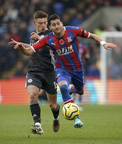 Leicester vence a Palace, es 3ro en la Premier