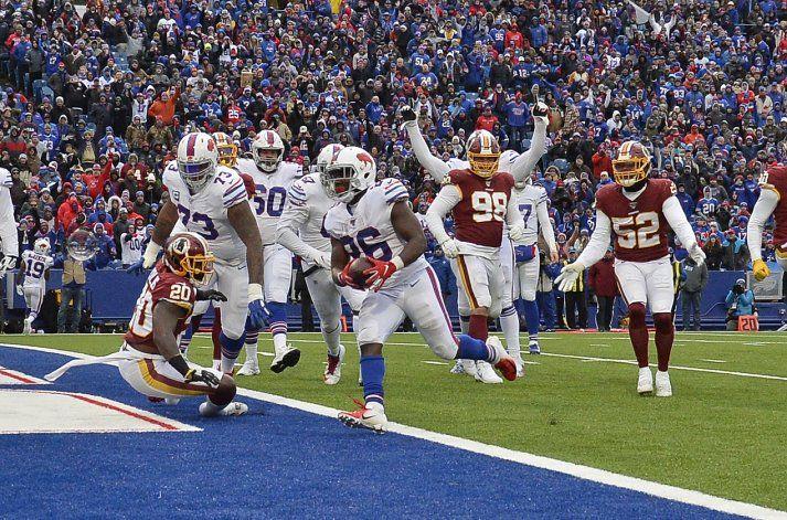 Bills vencen a Redskins; logran mejor inicio desde 1993