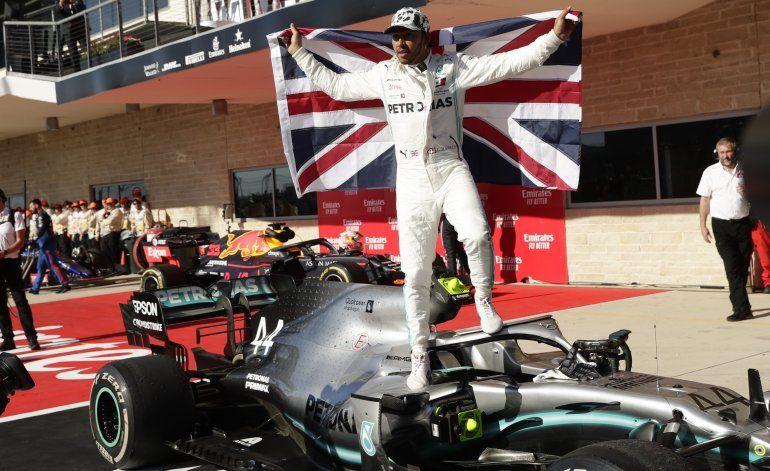Hamilton gana su 6to título de F1 en el GP de EEUU