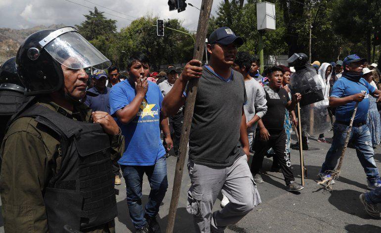 Oposición cívica boliviana mantiene presión contra Morales