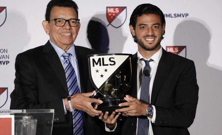 Carlos Vela, primer MVP mexicano de la MLS