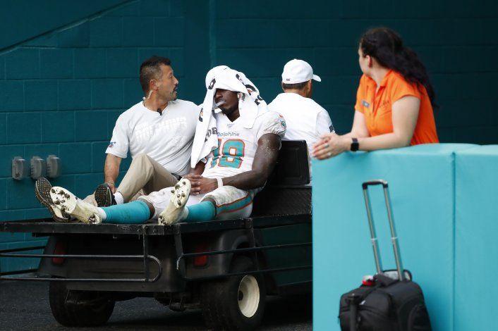 Dolphins pierden a novato Preston Williams por lesión