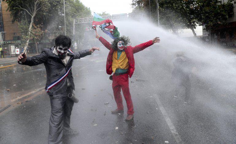 Organizaciones sociales respaldan protesta en Chile