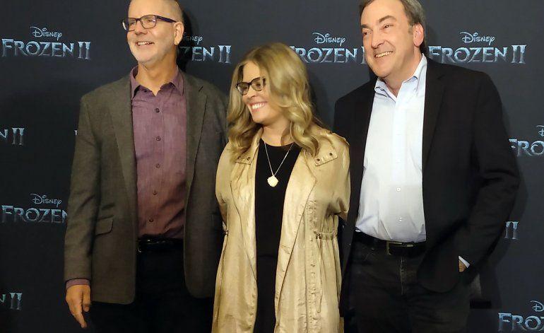 "Directores de Frozen II: ""Ana y Elsa nos sorprenden"""