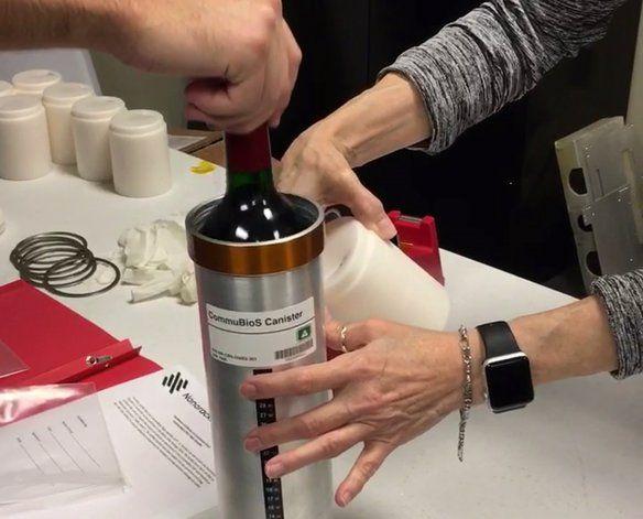 Envían vino tinto a la estación espacial para investigación