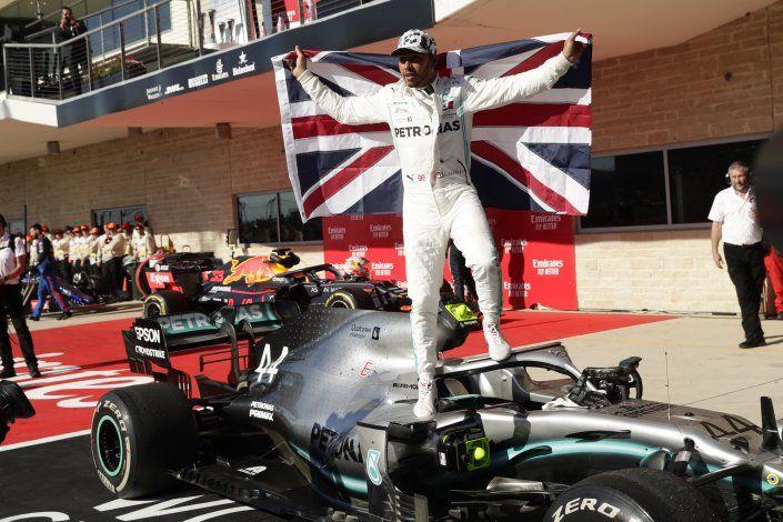 Hamilton atisba los 7 títulos de Schumacher en la F1