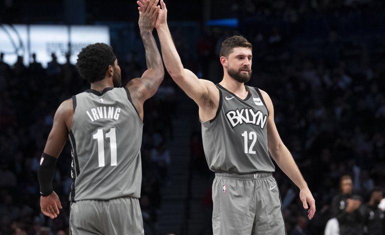 Nets vencen a Pelicans, pese a 40 puntos de Ingram