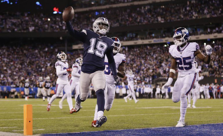 Prescott lanza para 3 anotaciones; Cowboys doblegan a Giants
